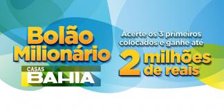Promoção Bolão Premiado Casas Bahia