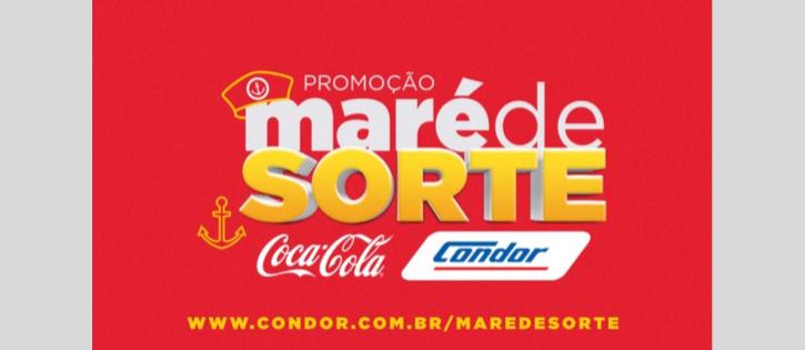 """Condor e Coca-Cola lançam a """"Maré da Sorte"""""""