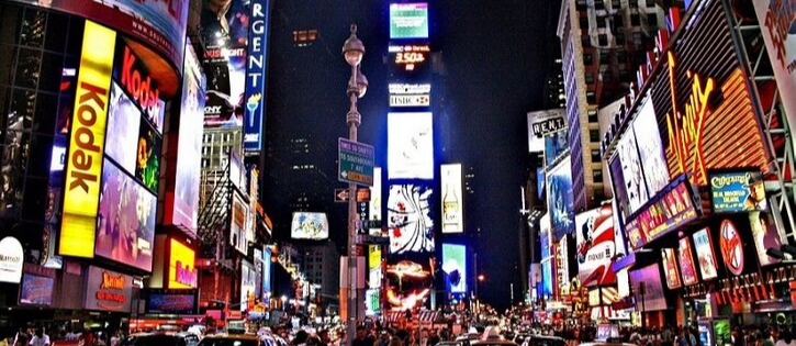 Cinema e viagem para Nova York com descontos